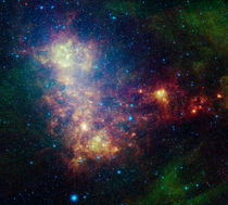 Stars and dust of the Small Magellanic Cloud. von Stocktrek Images