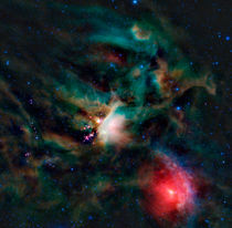 The Rho Ophiuchi cloud complex. von Stocktrek Images