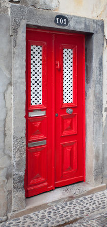 Red door 101 by Sergey Tsvetkov