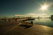 Barcelona Waterfront  von Rob Hawkins