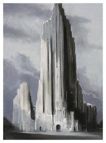 Austere Building von Scott Gillis