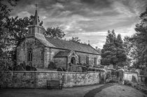 Saint Aidan's Church, Gillamoor. (Mono). von Colin Metcalf