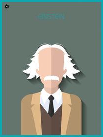 Albert Einstein von Diretório  do Design