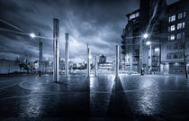 Swansea City Blue Mood by Leighton Collins