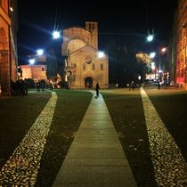 Piazza Santo Stefano by night by Azzurra Di Pietro