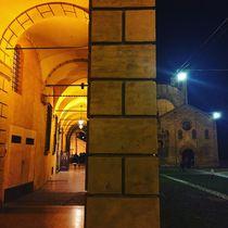 Piazza Santo Stefano by night by Azzurra Di Pietro