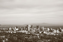 Skyline Los Angeles  by Bastian  Kienitz