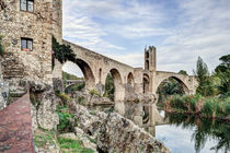 Besalú's Romanesque Bridge (Catalonia) by Marc Garrido Clotet