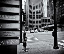 Chicago Street Scene von Ken Dvorak