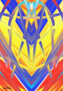 Transcend Abstract Design  by Vincent J. Newman