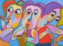 Painting, Gemälde Trio de conciertos by Twan de Vos