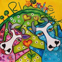 Die glückliche Rhöner Herzens-Kuh by Jeanett Rotter