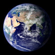 Earth from space showing the eastern hemisphere. von Stocktrek Images