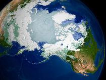 Circum-Arctic permafrost by Stocktrek Images