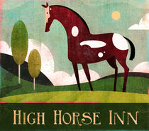High Horse Inn von Benjamin Bay