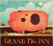 Grand Pig Inn von Benjamin Bay
