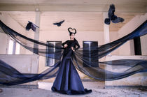 Maleficent  by kru-lee
