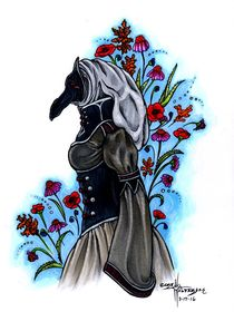 Plague Doctor by Care Halverson