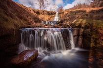 Blaen y Glyn waterfalls by Leighton Collins