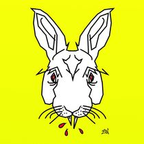 Vampire Bunny Design by Vincent J. Newman