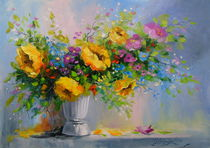 Bouquet with yellow flowers by Olha Darchuk