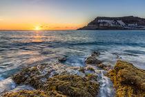 Sonnenuntergang über Tauro, Gran Canaria von Moritz Wicklein