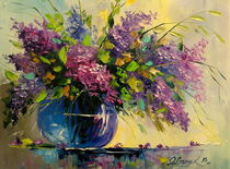 Lilac in a vase by Olha Darchuk