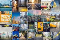 "New York Mosaik ""Yellow"" by goettlicherfotografieren"