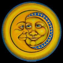 Happy Sun & Moon detail from Spirit of Boho Nation