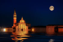 Campanile by night by foto-m-design