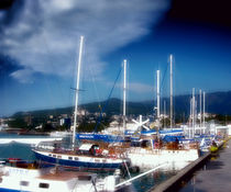 Yachts-berthed