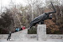 Denkmal für den Spanienkämpfer by Rainer F. Steußloff