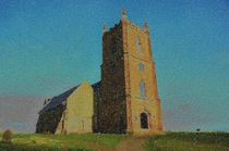 Hanbury Church von Malcolm Snook