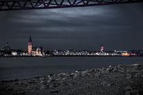Emmerich am Rhein im Öl Stil. von augenblicke