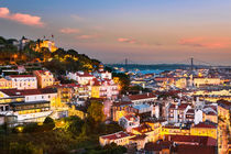 Lisbon Sunset von Michael Abid