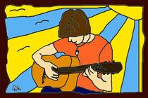 Gitarrenspieler von lela