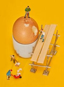 Going to work on an egg von John Boud