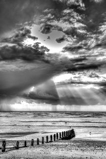 Sun-rays and Showers by Malc McHugh