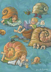 Schneckenkinder von Annette Swoboda