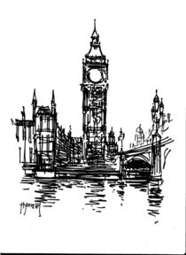 Big Ben London by terrydonnelly
