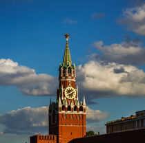 towers of the Moscow Kremlin von Andrey Lipinskiy