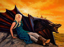 Game Of Thrones Painting von Paul Meijering