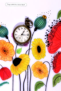 Coquelicot-montre