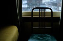 Motel Room with Chair by Jim Corwin