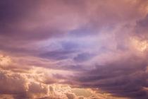 'Sonnenuntergang - Wolken' von Peter Eggermann