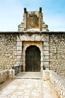 Drawbrige of Chinchon castle by kgm