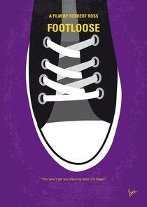 No610 My Footloose minimal movie poster by chungkong