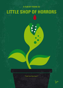 No611 My Little Shop of Horrors minimal movie poster von chungkong