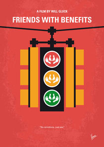 No629 My Friends with benefits minimal movie poster von chungkong