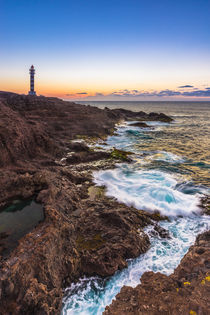 Sunset at Faro de Sardina, Gran Canaria von Moritz Wicklein
